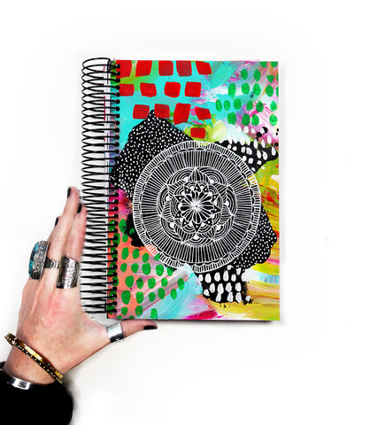handmade art journal- 18
