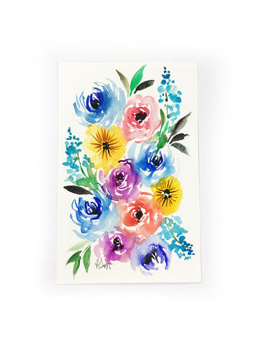 original little flower painting 1