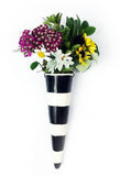 polka dot pixie flower vase
