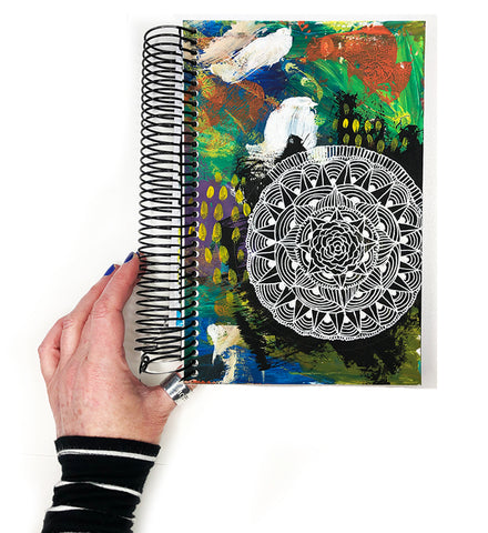 handmade art journal- 23