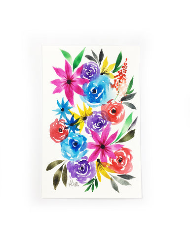 original little flower painting 2