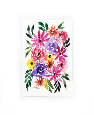 original little flower painting 3