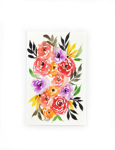 original little flower painting 4
