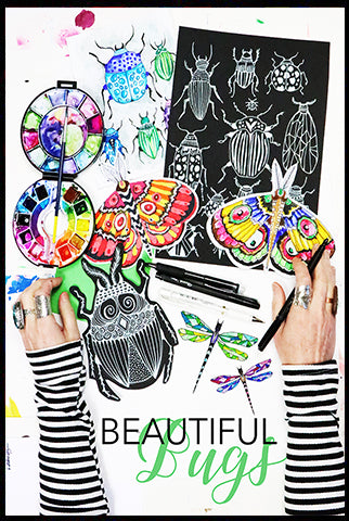 NEW! beautiful bugs- launches Aug 10