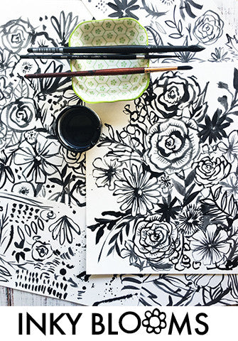 inky blooms