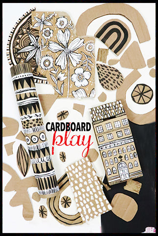 NEW! cardboard play- launches SEPT 1
