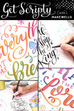 NEW! bundle of 3 LETTERING classes: Drawin' Letters with Makewells, Get Scripty, Letter Outside the Lines