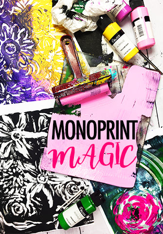 NEW! monoprint magic LIVE OCT 2