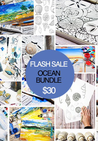 FLASH SALE! you, me & the sea and lovely landscapes