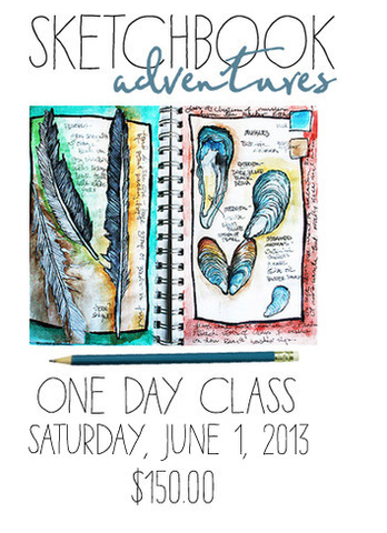 Sketchbook Adventure June-1 day class