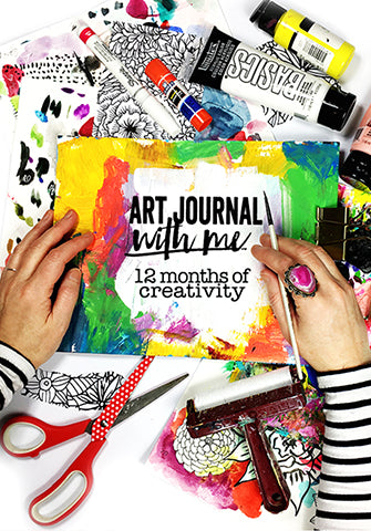 art journal with me: 12 months of creativity- begins JAN 15