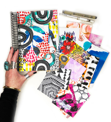 big messy art journal bundle 1