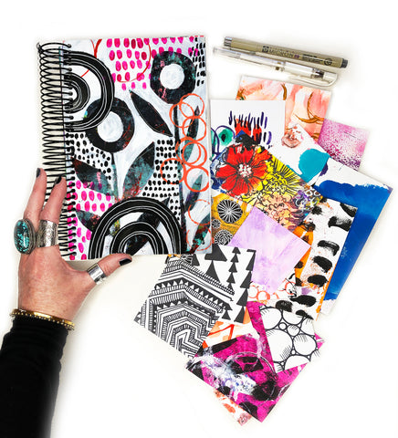 big messy art journal bundle 6