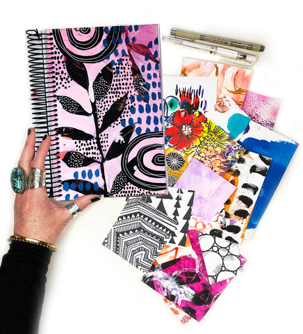 big messy art journal bundle 4