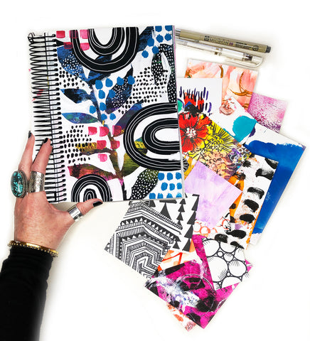 big messy art journal bundle 5