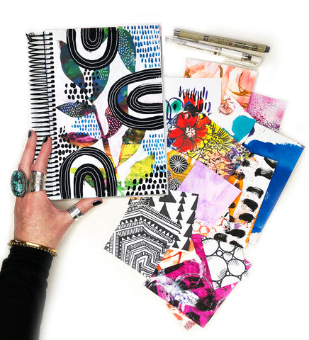 big messy art journal bundle 8