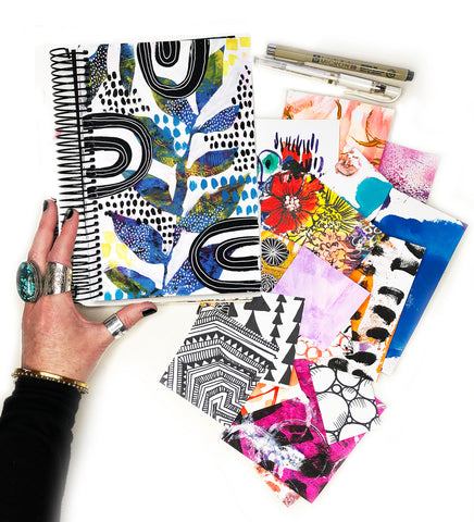 big messy art journal bundle 9