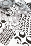 printable black and white pattern