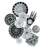 mandala paper sticker pack