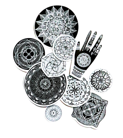mandala sticker pack