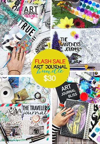 SALE! art journal bundle