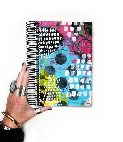 classic art journal 11- blank pages