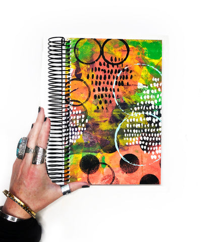 classic art journal 14- blank pages