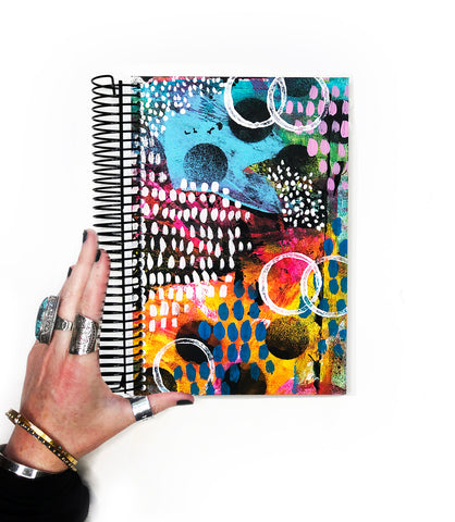 classic art journal 5- blank pages