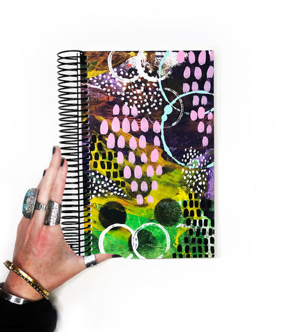 classic art journal 7- blank pages