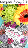 flower power coloring book