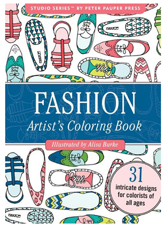 fashion portable coloring book