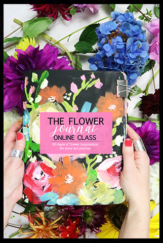 NEW! the flower journal