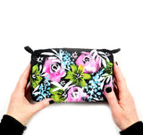 painted flower pouch13