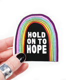 hold on to hope vinyl sticker
