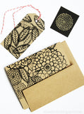 pretty little feathers collection- rubber stamp sheet