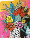 messy bouquet original painting 2