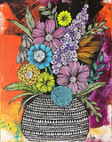 messy bouquet original painting 6