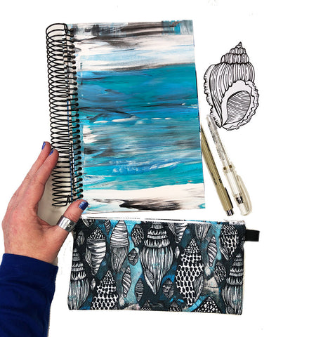 ocean art journal bundle 1