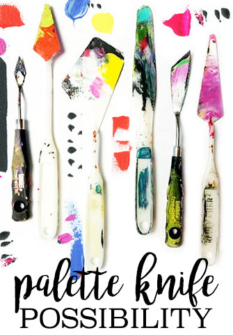 NEW! palette knife possibility