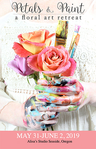 Petals and Paint: A Floral Art Retreat May 31-June 2, 2019