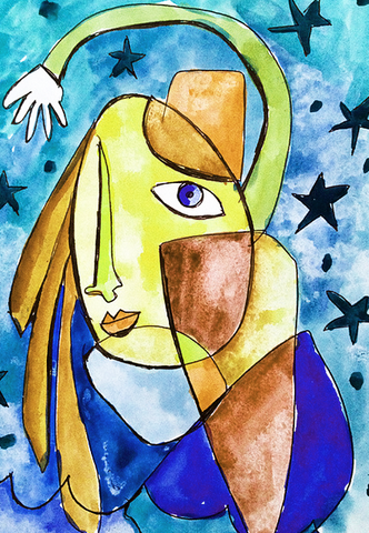 the art of abstraction online class alisa burke