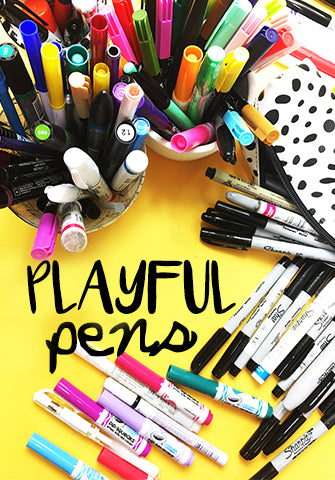 NEW! playful pens LIVE Nov 6