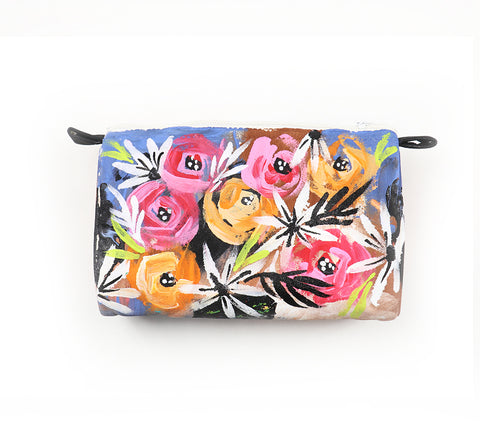 painted flower pouch18