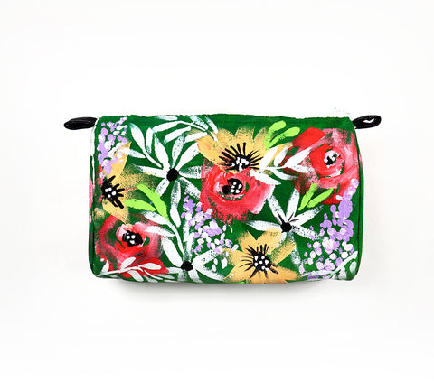 painted flower pouch1