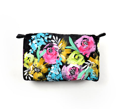 painted flower pouch2