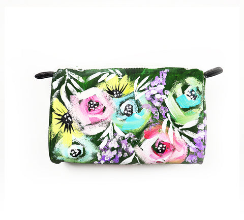 painted flower pouch9