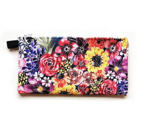 bouquet of flowers pouch