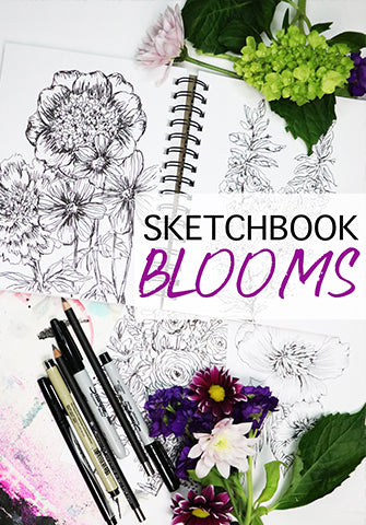 NEW! sketchbook blooms