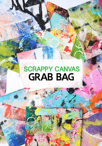 scrappy canvas grab bag