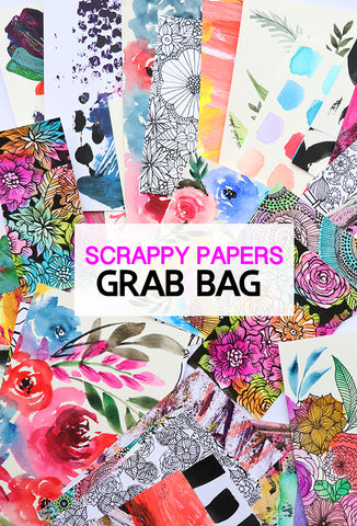 scrappy paper grab bag